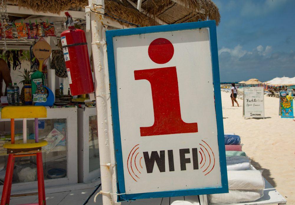 Internet via wifi
